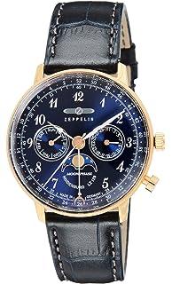 b43c3154ec [ツェッペリン]ZEPPELIN 腕時計 Hindenburg ネイビー文字盤 7039-3 メンズ 【並行輸入