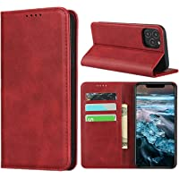 Cavor for iPhone 12 Case,iPhone 12 Pro Case,Cowhide Pattern Leather Case Magnetic Wallet Cover with Card Slots(6.1…
