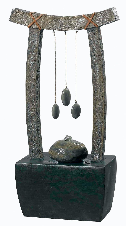 Amazon.com : Kenroy Home 50326WDG Mantra Indoor Table Fountain ...