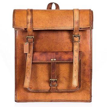 6430b268385b Original Leather Classy Bags  Retro Vintage Dapper Sailor Rucksack Backpack  Bag