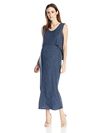 1ce2eba709d Ripe Maternity Women s Maternity Swing Back Maxi Dress at Amazon Women s  Clothing store
