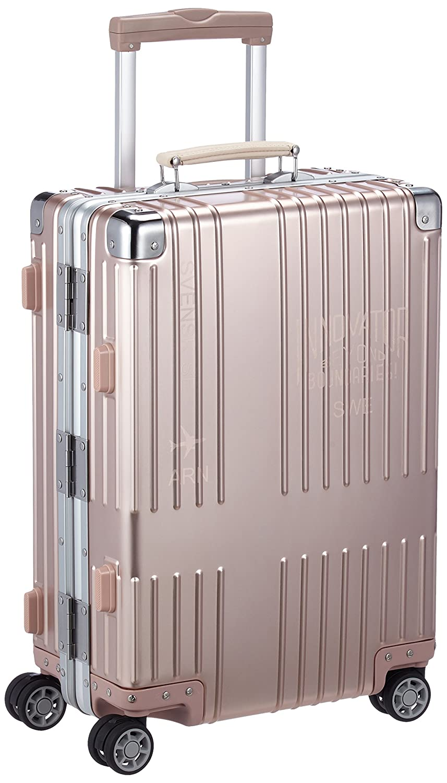 [イノベーター] スーツケース アルミキャリー フレーム 機内持込可 保証付 36L 55cm 4.4kg B06VT2Y5S8 B06XX5CBW1 ローズゴールド ローズゴールド
