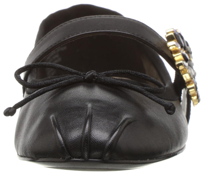 Nine West B01N2BCQQY Women's Xandi Leather B01N2BCQQY West 8 B(M) US|Black/Multi 25154f