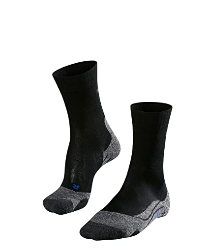 Falke TK2 Cool – Calcetines Deportivos Mujer Gris/Negro 2016, Mujer, Color Negro