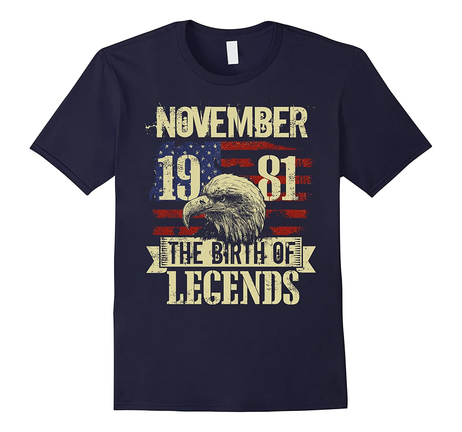 1981 NOVEMBER NOV The Birth Of Legends Gift 36 Yrs Years Old-FL