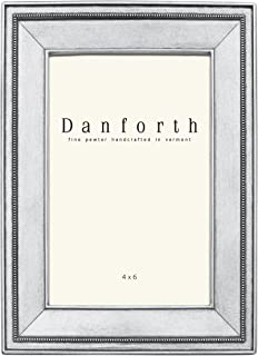 product image for DANFORTH - Federal 4x6 Pewter Picture Frame (Classic) - Handcrafted - Gift Boxed