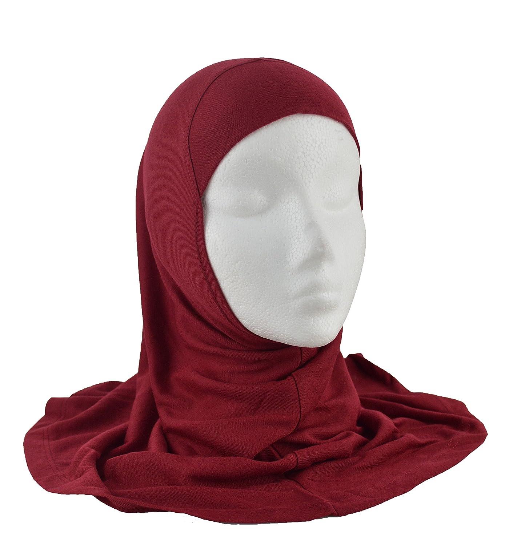 HIJAB MUSLIM GIRLS ISLAMIC HEADSCARF ONE PIECE AL AMIRA