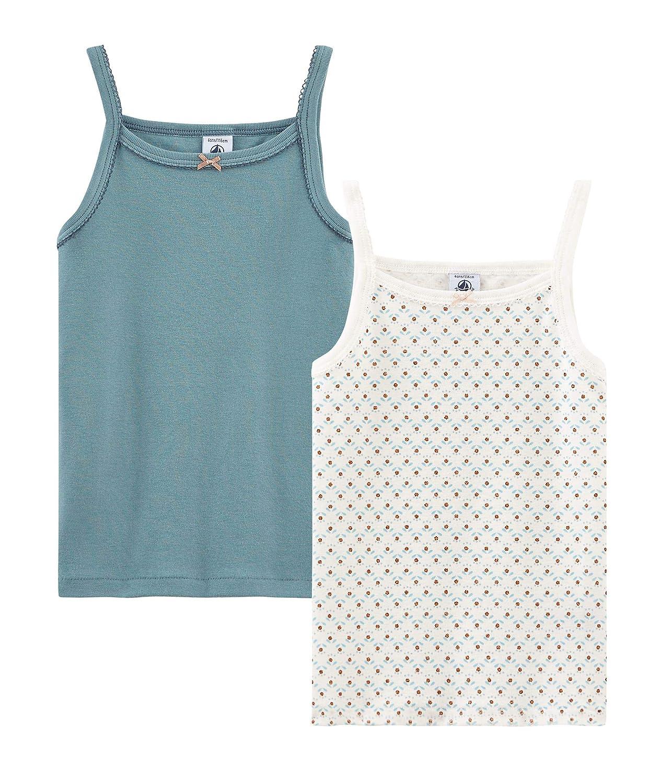 Petit Bateau Girl's Vest Pack of 2