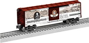 Lionel Railroad Heritage Series, Electric O Gauge Model Train Cars, Westinghouse 150 Boxcar