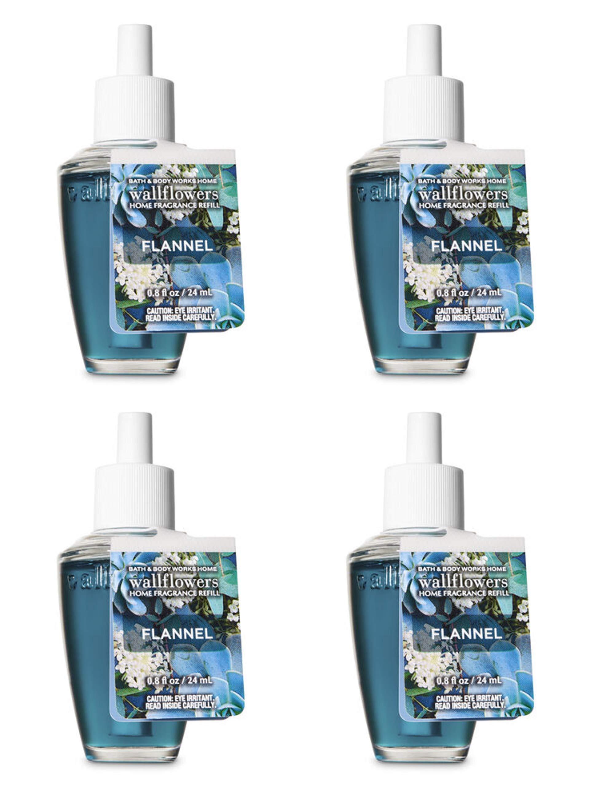Bath and Body Works Flannel Wallflowers Fragrance Refill. 0.8 Oz. by Bath & Body Works