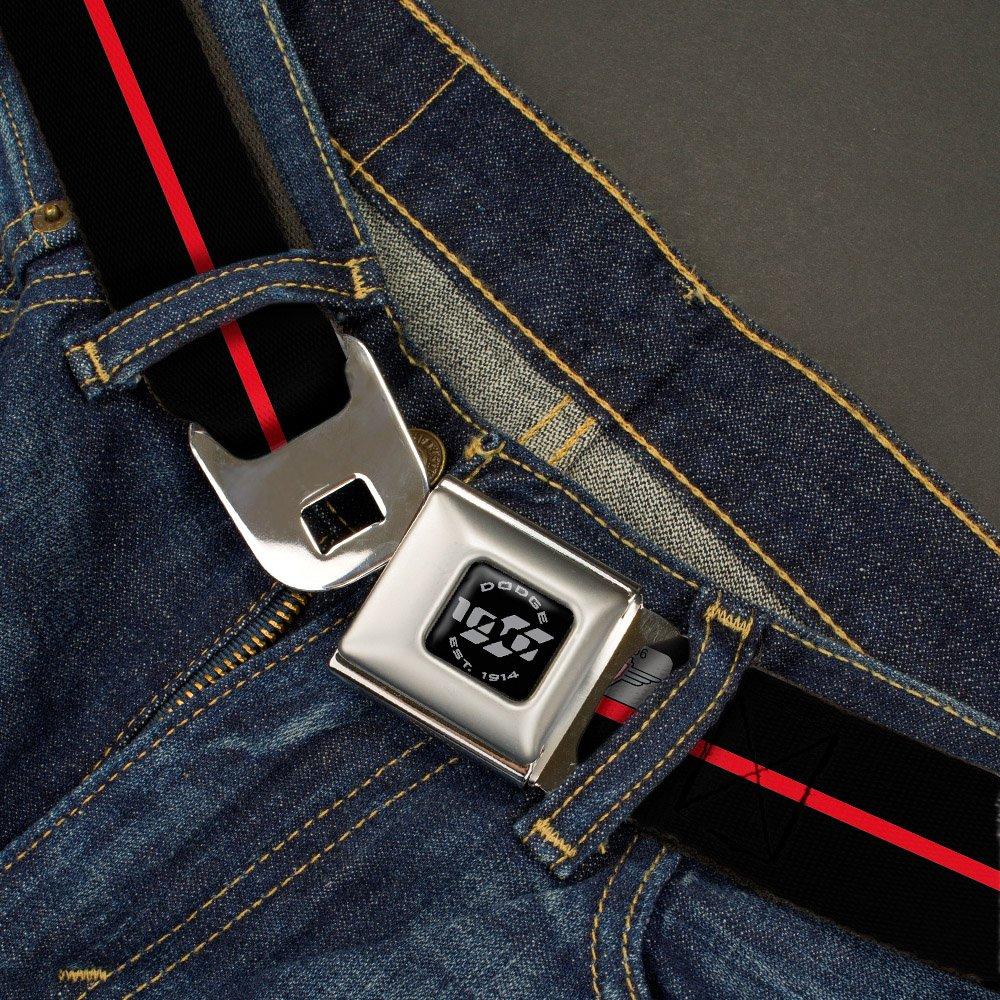 Buckle Down Mens Seatbelt Belt Dodge Rhh Buckle-Down RHH-WRH007-1.0