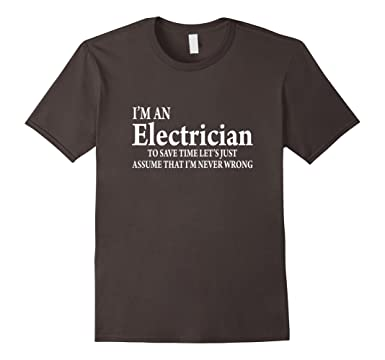 Funny Tshirt Quotes Interesting Amazon Funny Electrician Quotes TShirt Electrician Job Title