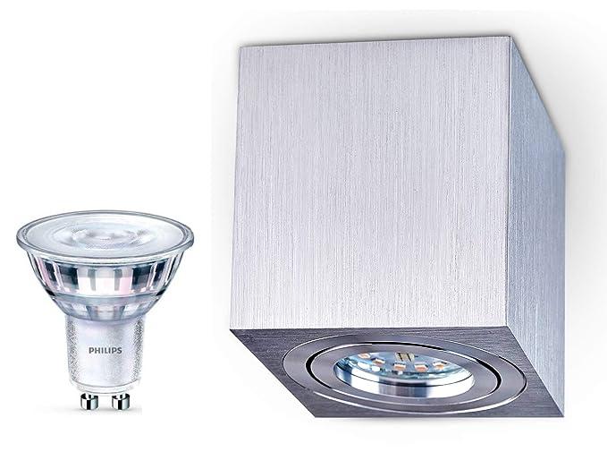 Plafoniera faretto dimmerabile palermo aufputz lampada soffitto