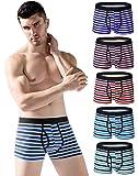 Men's No Ride up Boxer Briefs Stretch Comfortable Breathable Cotton Underwear