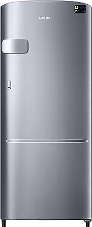 Samsung 192 L 3 Star Direct Cool Single Door Refrigerator(RR20N1Y1ZSE/HL, RR20N2Y1ZSE/NL, Elective Silver, Inverter…