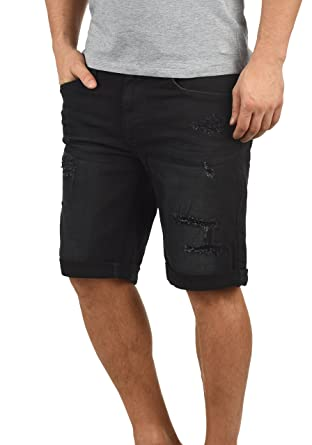 Blend Deniz Herren Jeans Shorts Kurze Denim Hose Mit Destroyed-Optik Aus  Stretch-Material b1e605f6dc