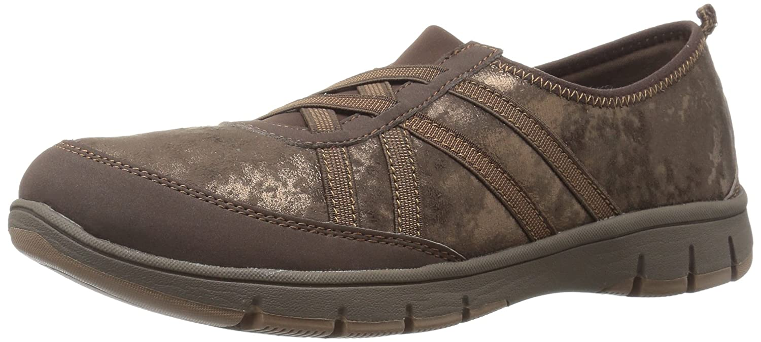 Easy Street Women's Kila Flat B01JIN3RVS 8 W US|Brown Shimmer