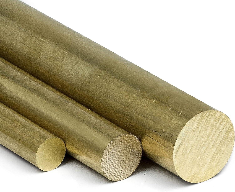 L: 400mm Messingstange auf Zuschnitt Messing Rundstange Ms58 /Ø 12mm 40cm