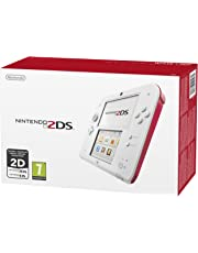 Nintendo 2DS Console, Bianco/Rosso