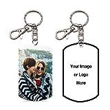 Pearl Pix Custom Key Chain, Personalized Photo