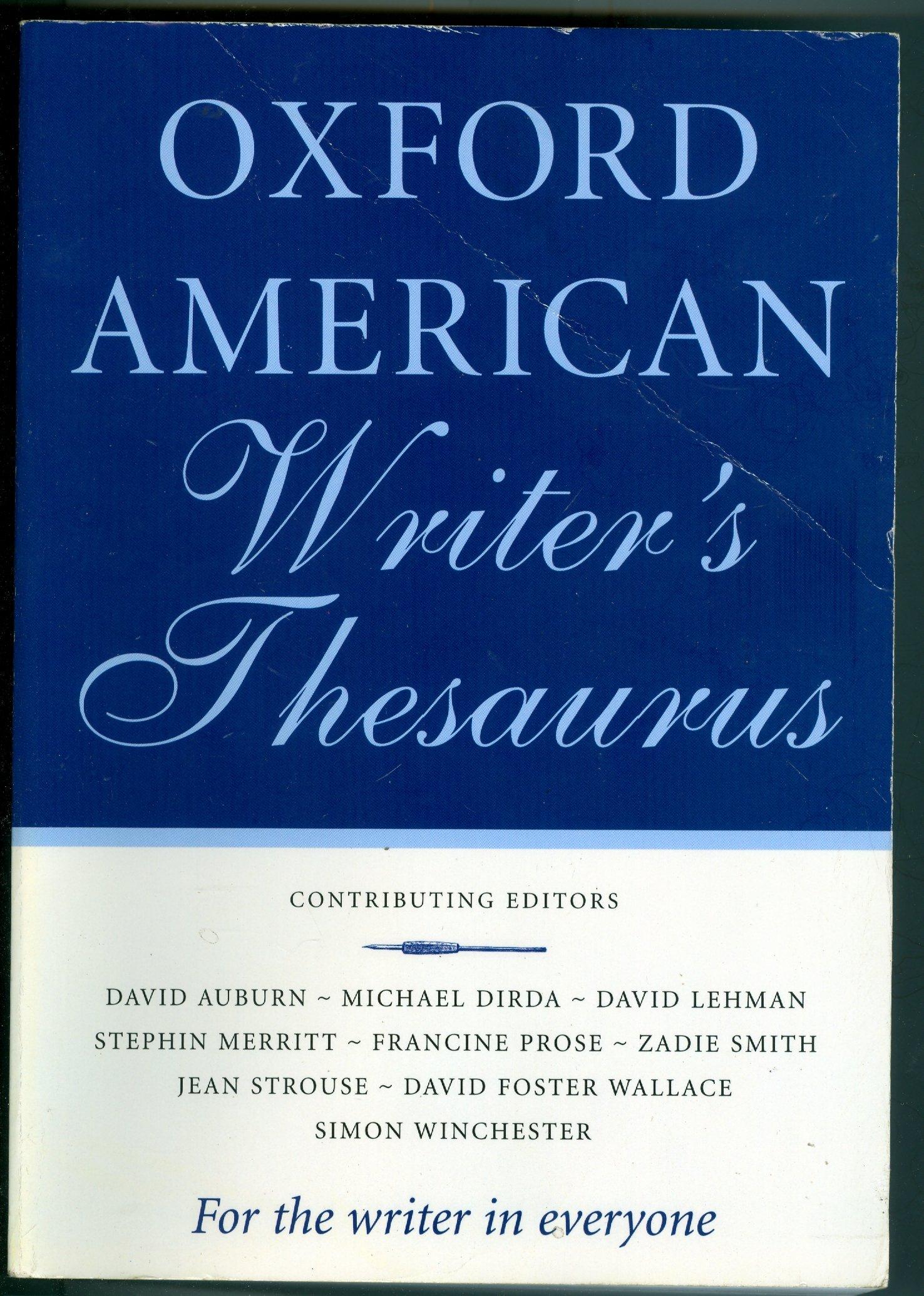 Oxford American Writer's Thesaurus: David
