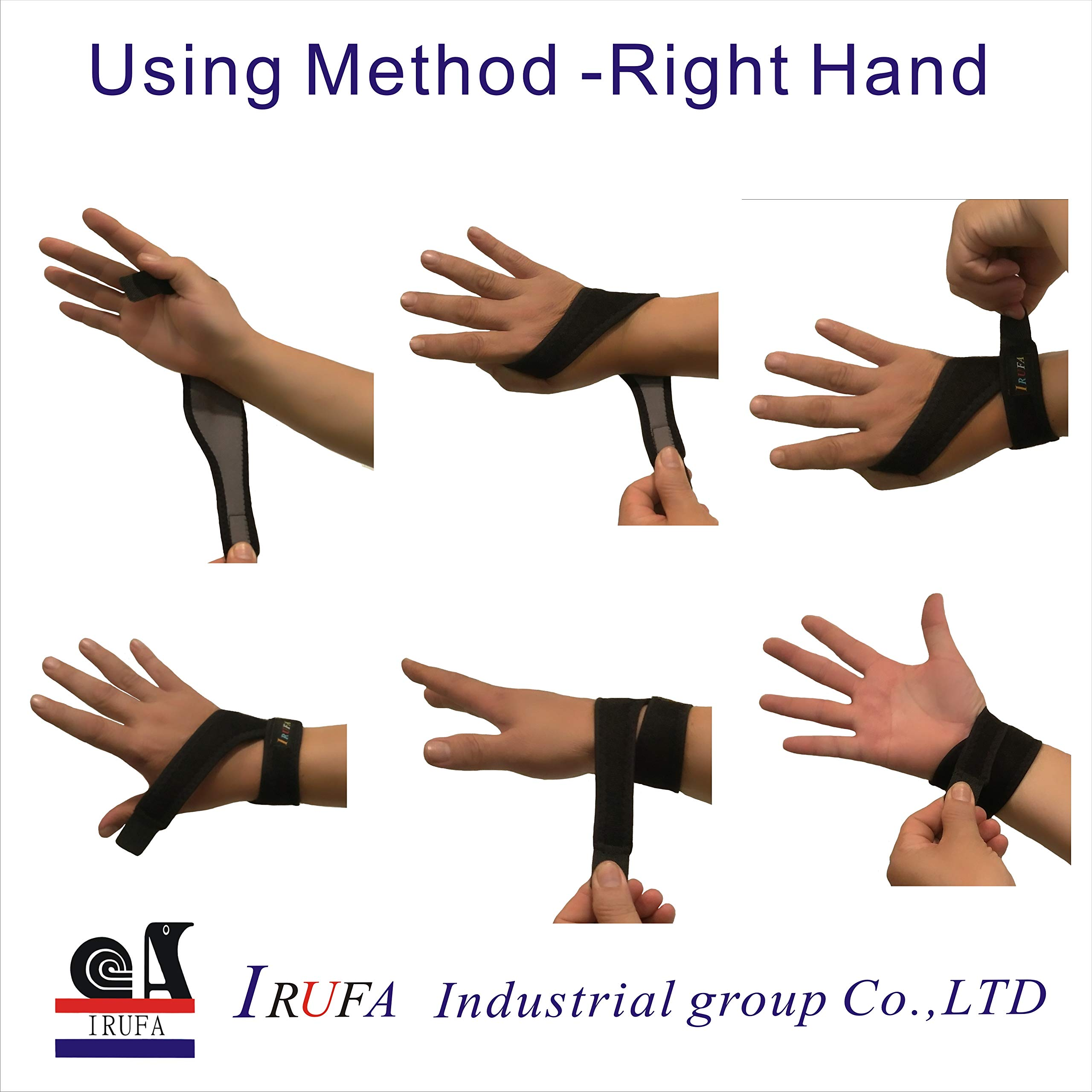 IRUFA,WR-OS-17,3D Breathable Spacer Fabric Wrist Brace, for TFCC Tear- Triangular Fibrocartilage Complex Injuries, Ulnar Sided Wrist Pain, Weight Bearing Strain, One PCS (Spacer Fabric) by IRUFA (Image #3)