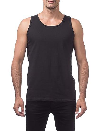 53b15aa96ee28 T-shirts 12 PACK PRO CLUB PROCLUB PLAIN MENS TANK TOP SLEEVELESS MUSCLE  SHIRTS CASUAL TEE