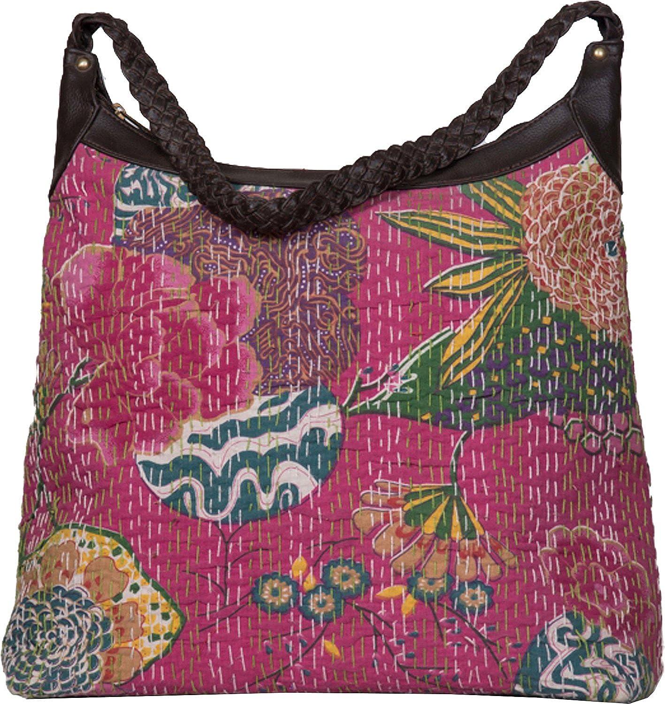 Jaipur Textiles Hub Women's Hand Bag ( Pink, JTH-162 )
