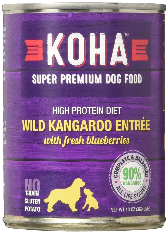 Koha Can Kangaroo Dog Food 12 Pack , 13.2 Oz