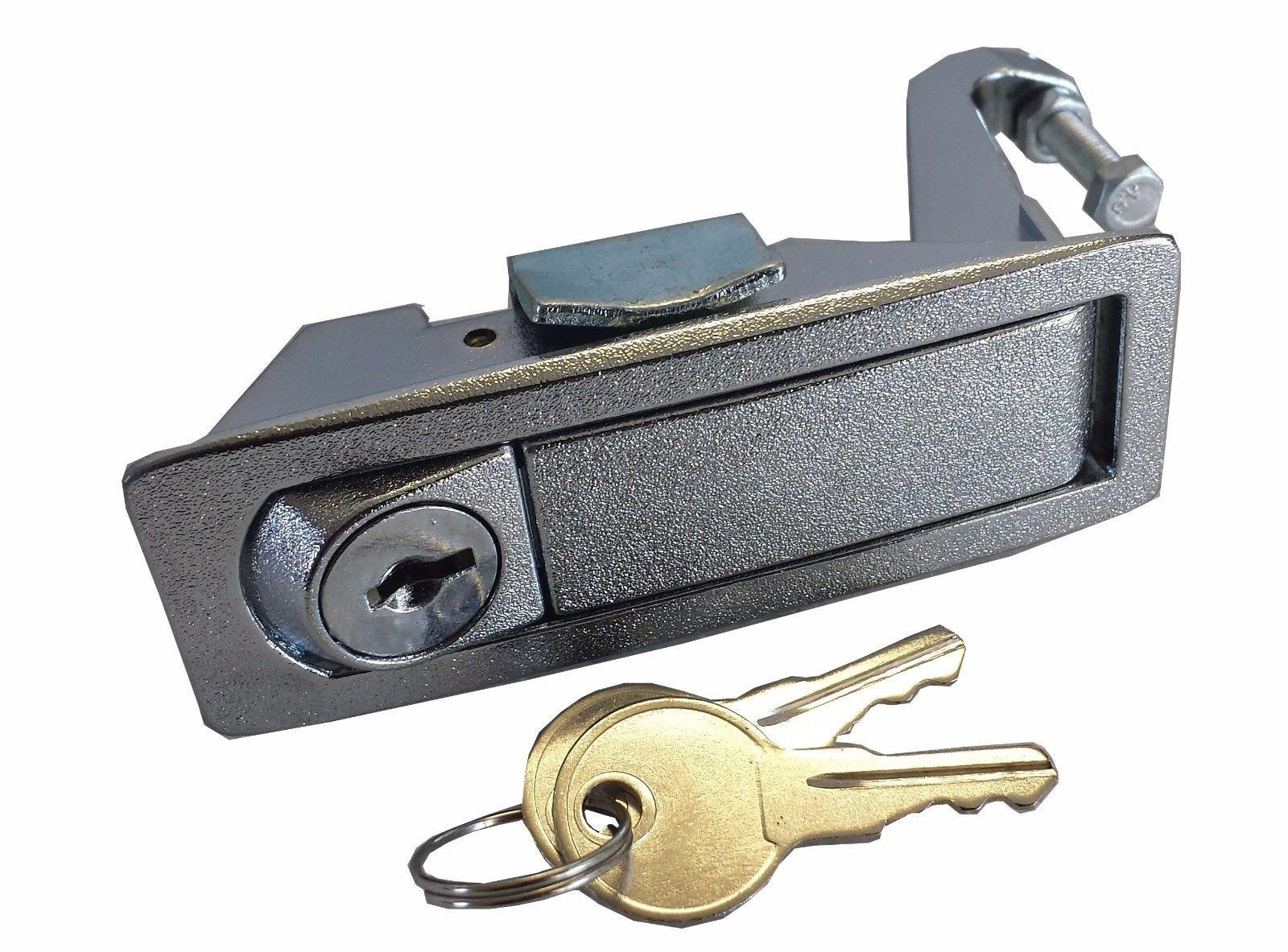 CPW (tm) Peterbilt 386 387 Silver Latch Lock Kit for Tool Box - C233213