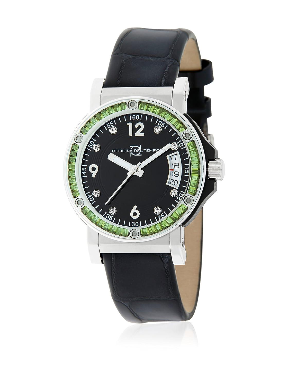 Officina del Tempo   -Armbanduhr  Analog    OT1050-0420GN_Nero Lucido