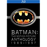 Batman: The Motion Picture Anthology 1989-1997 (Batman / Batman Returns / Batman Forever / Batman & Robin) [Blu-ray] (Bilingu