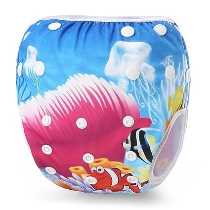storeofbaby bebé nadar pañales reutilizables natación pantalones ...