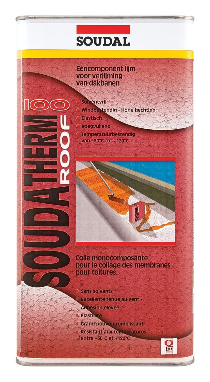 Soudal soudat herm Roof 100, para la rápido de vlieskaschierten techo abdichtungs las Carreteras, Beige, contenido: 5,5 kg: Amazon.es: Bricolaje y ...