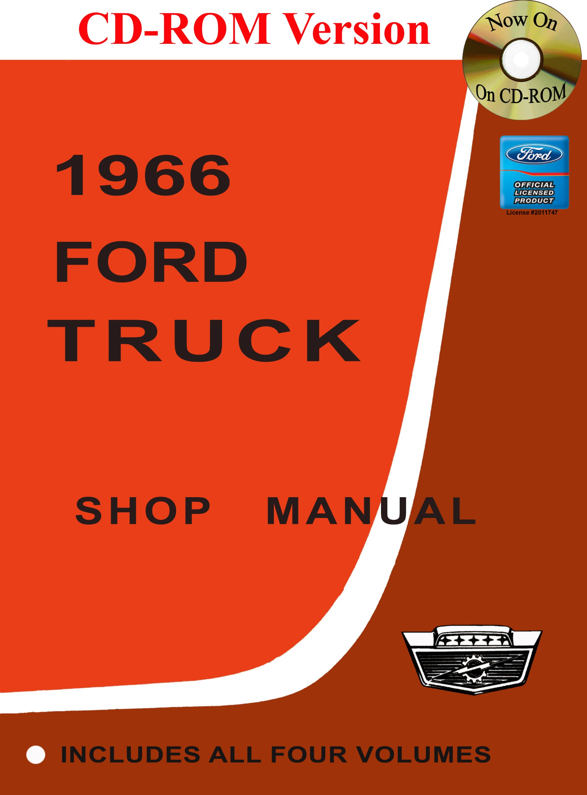 1966 Ford Truck Shop Manual: Ford Motor Company, David E. LeBlanc:  9781603710749: Amazon.com: Books