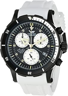 Vostok-Europe Mens 6S30/5104184W Tritium Tube Illumination Watch