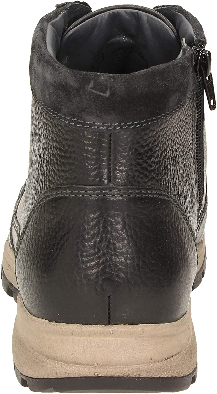 Sioux Fabirio-702-tex Chukka - Stivali da Uomo Nero Schwarz Magnet 000