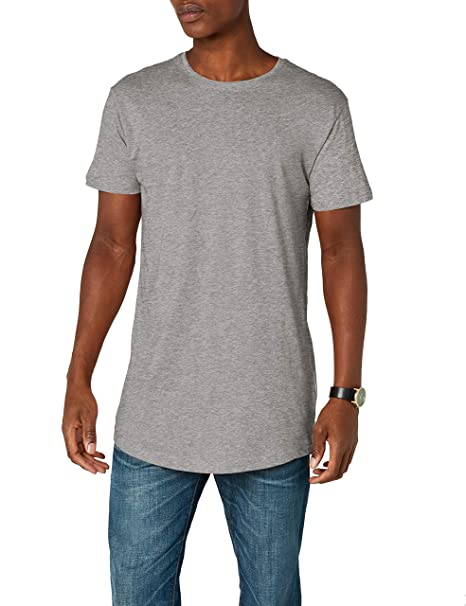 2bc75d7aa18892 Urban Classics Herren T-Shirt Shaped Long Tee
