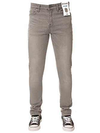 48345845ac70 New ENZO Boys Designer Basic Chino Jeans Skinny Stretch Fit Ages 9 ...