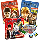 Harry Potter Games Set -- Deluxe Triwizard Maze Board Game and 2 Coloring Books (Harry Potter Party Supplies)