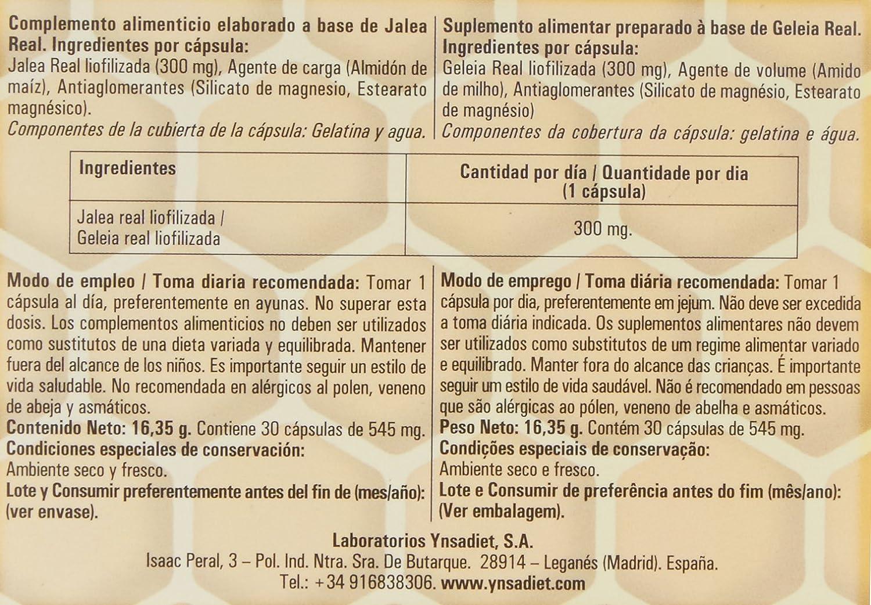 Ynsadiet Jelly Vital Jalea Liof - 30 Cápsulas: Amazon.es: Salud y cuidado personal