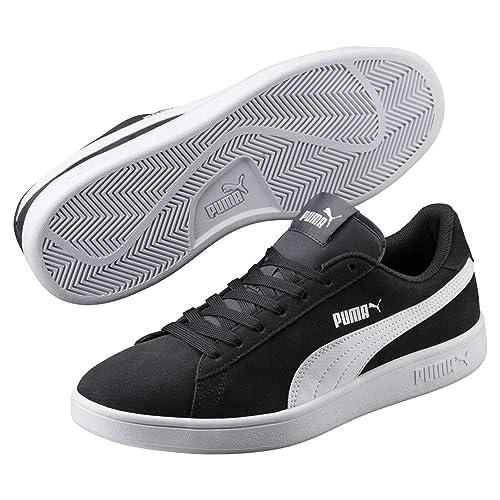 new style 682ef b6581 PUMA Smash v2 Sneaker Asphalt-Puma White 3.5