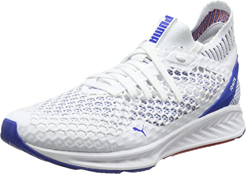 Puma Shoes Ignite Netfit Puma White lapis Blue toreador