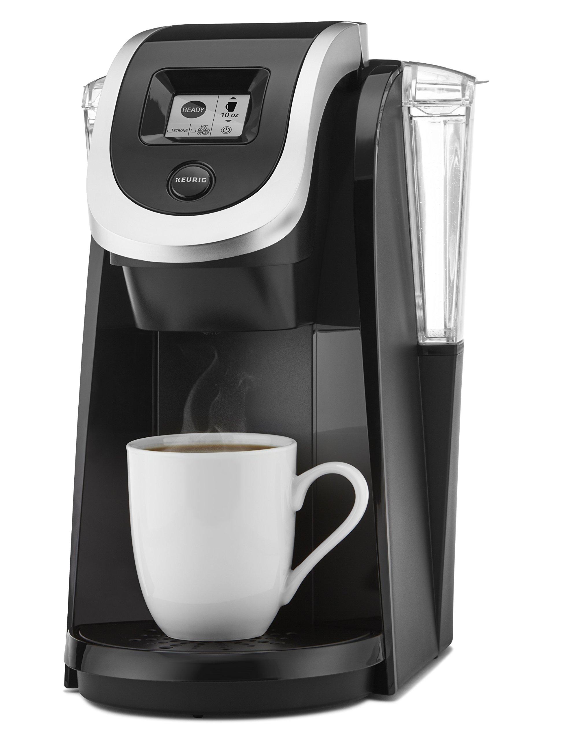 galleon keurig k250 single serve programmable k cup pod coffee maker black. Black Bedroom Furniture Sets. Home Design Ideas