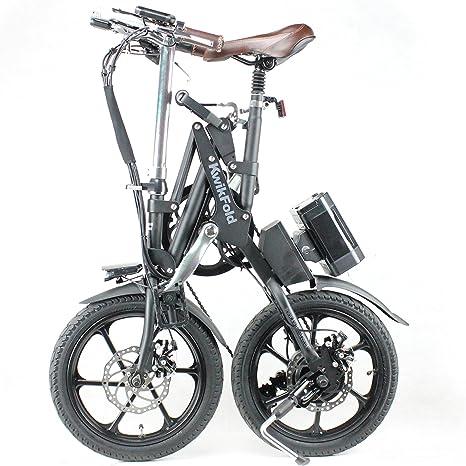 KwiKfold® Bicicleta eléctrica plegable con cambio de marchas ...