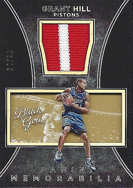 super popular dd04d 5df08 GRANT HILL 2015-16 Panini Black Gold Basketball VINTAGE ...