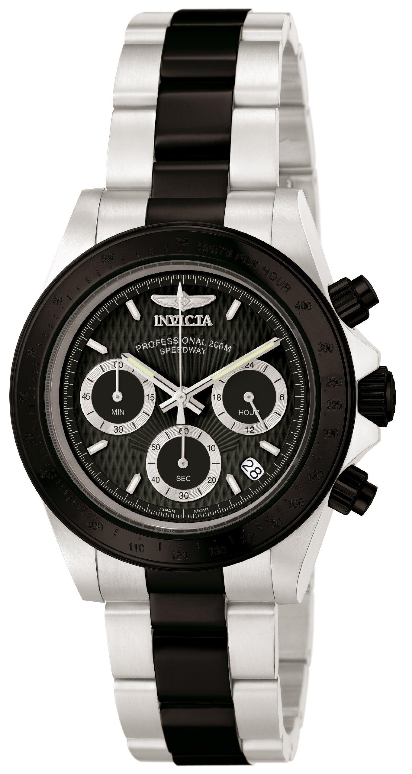 ویکالا · خرید  اصل اورجینال · خرید از آمازون · Invicta Men's 'Speedway' Quartz Stainless Steel Sport Watch, Color:Silver-Toned (Model: 6934) wekala · ویکالا
