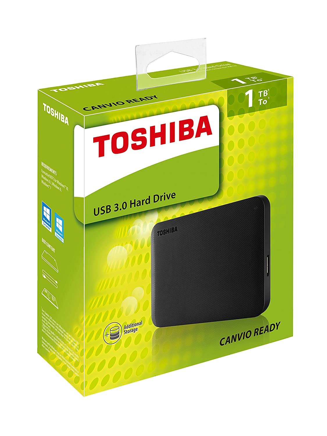 Amazon. In: buy toshiba 1tb 2. 5 canvio ready usb 3. 0 portable external hard drive (black) hdtp210ak3aa (2017 model) online at low price in india on amazon. In. Check out toshiba 1tb 2. 5 canvio ready usb 3. 0 portable external hard drive (black) hdtp210ak3aa (2017 model).