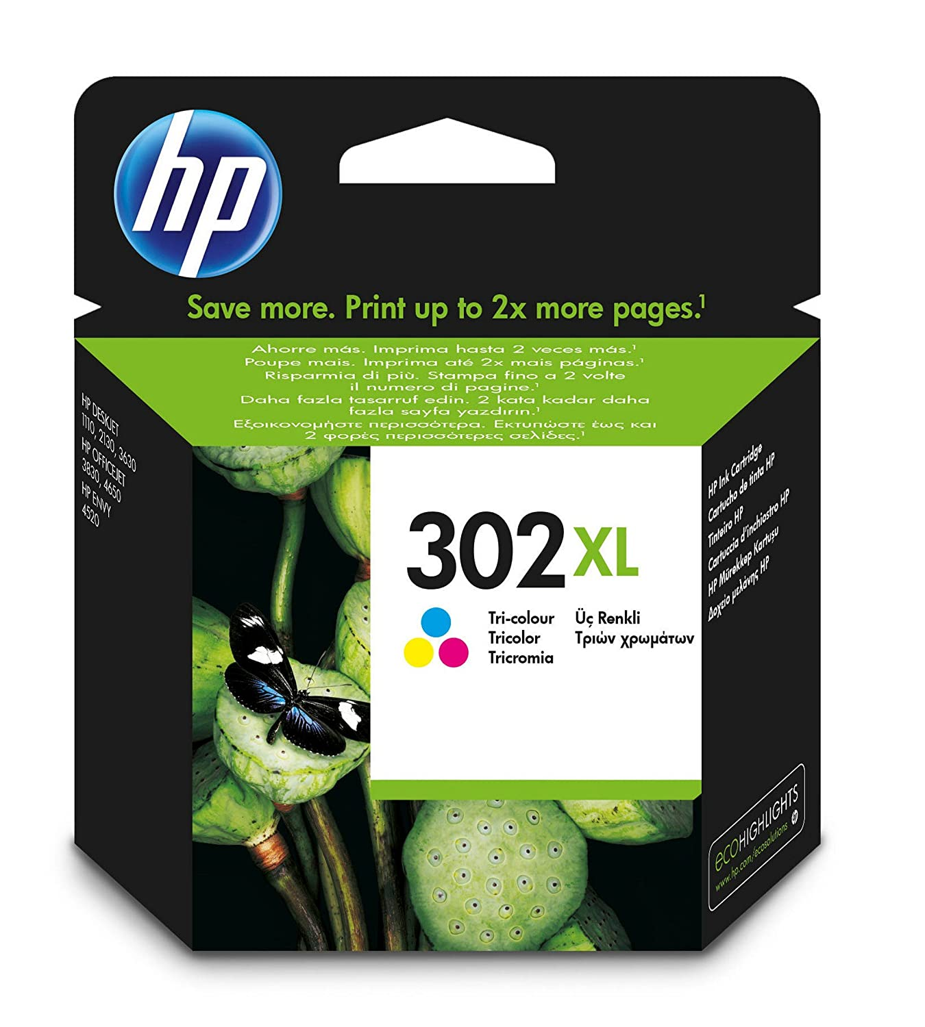 HP XL Cartucho de tinta Original HP XL Tricolor para HP DeskJet