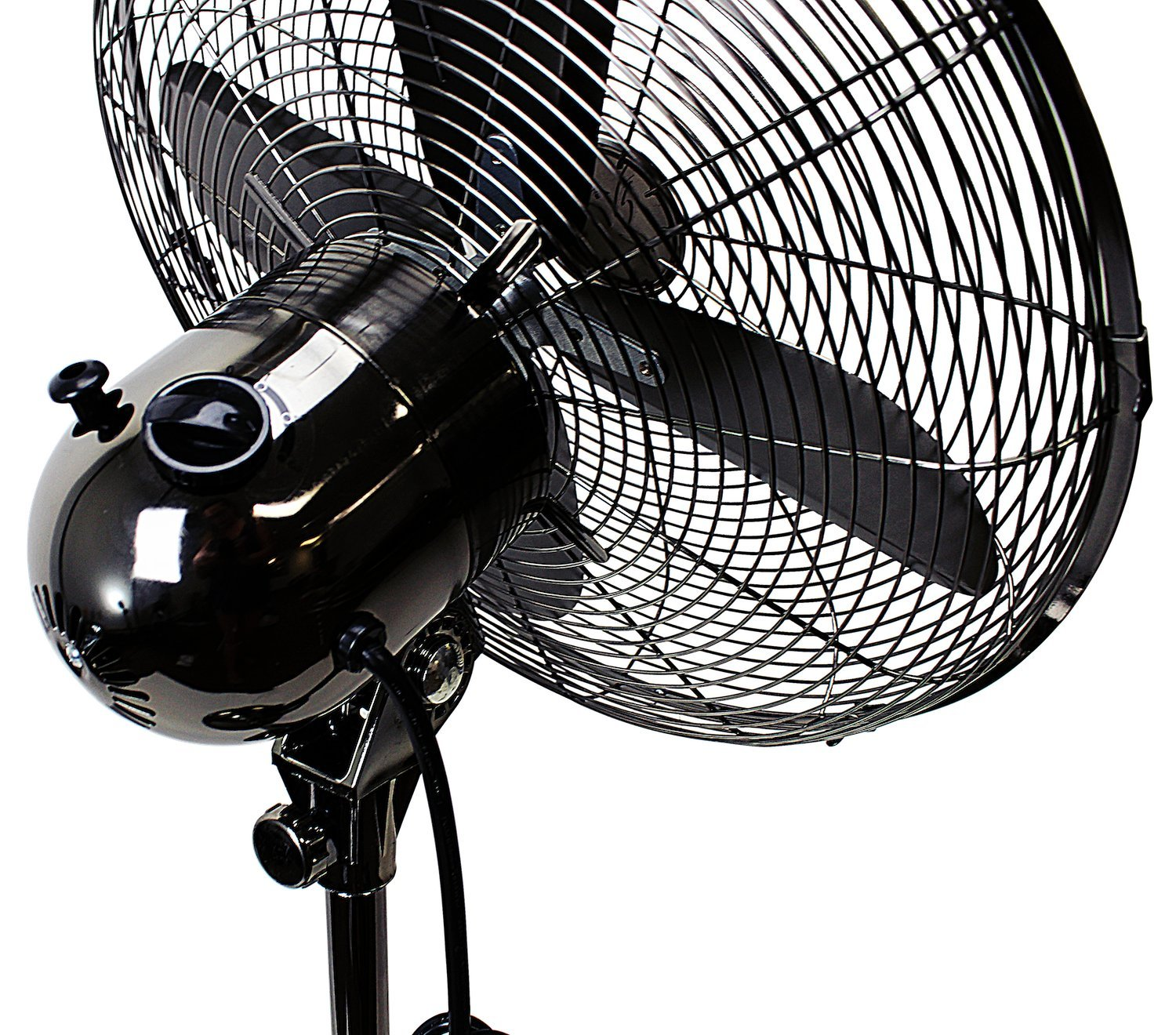 Oscillating Standing Floor Fan Whisper Quiet Cooling